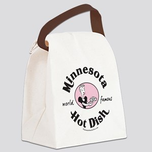 Hot Dish_tee Canvas Lunch Bag