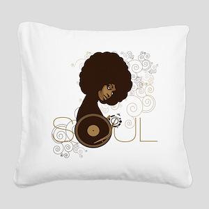 soul4 Square Canvas Pillow