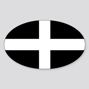 Flag of Cornwall, Saint Piran's Flag, Sticker