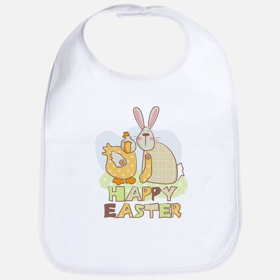Happy easter friends Bib