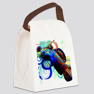 Mandarin Dragonet Canvas Lunch Bag