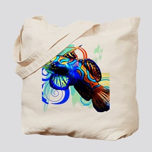 Mandarin Dragonet Tote Bag
