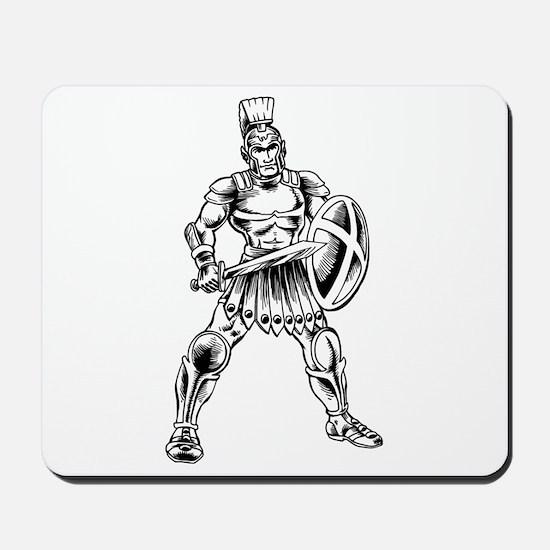 Roman Soldier Mousepad