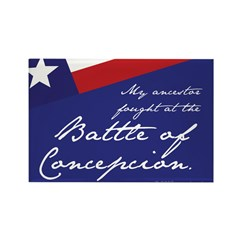 Battle of Concepcion Rectangle Magnet (100 pack)