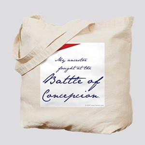 Battle of Concepcion Tote Bag