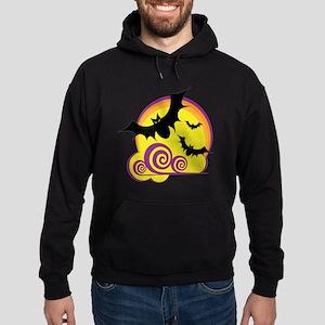 bats-moon Hoodie (dark)