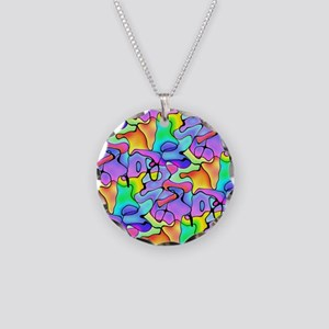 iPad Chroma Necklace Circle Charm