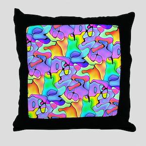 iPad Chroma Throw Pillow