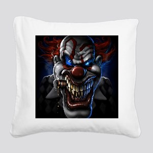 my clown Square Canvas Pillow