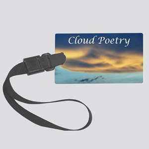 Cover_CAL3_clouds_ 0153 Large Luggage Tag