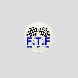 FTF B&W Mini Button