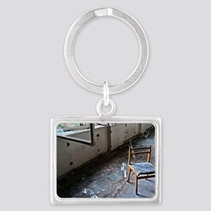 HOSPITAL-228-poster Landscape Keychain