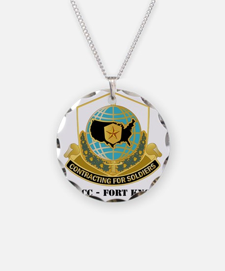 MICC---FORT-KNOXwtext Necklace