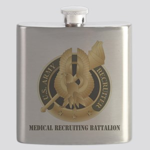 DUI - Medical Recruiting Battalion with Text Flask