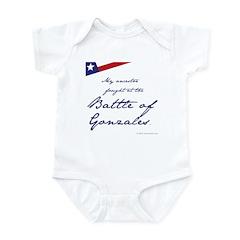 Battle of Gonzales Infant Bodysuit