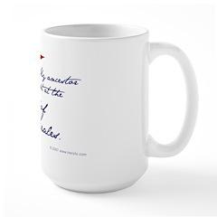 Battle of Gonzales Large Mug
