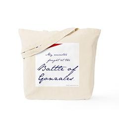 Battle of Gonzales Tote Bag