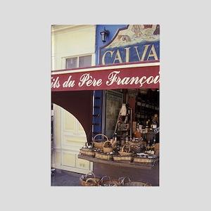 FRANCE, Normandy, Honfleur Calvad Rectangle Magnet