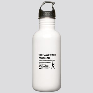 Awkward moment squash Stainless Water Bottle 1.0L