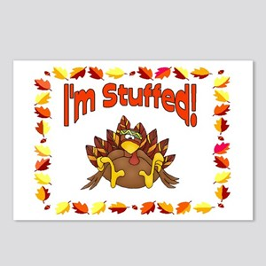 I'm Stuffed! Postcards (Package of 8)
