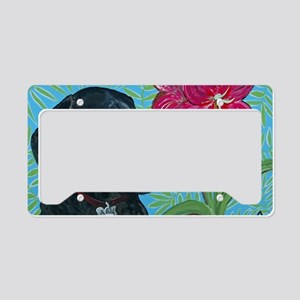 4x6 Dachshund License Plate Holder