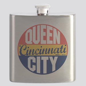 Cincinnati Vintage Label B Flask