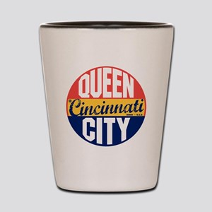 Cincinnati Vintage Label B Shot Glass