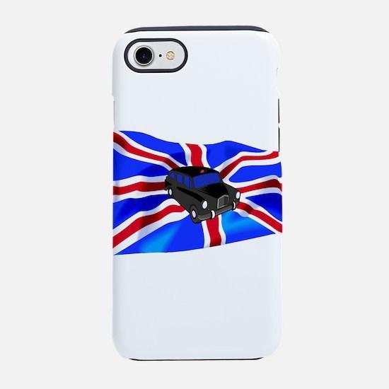 Black Cab Union Jack iPhone 7 Tough Case