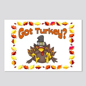 Got Turkey? Postcards (Package of 8)