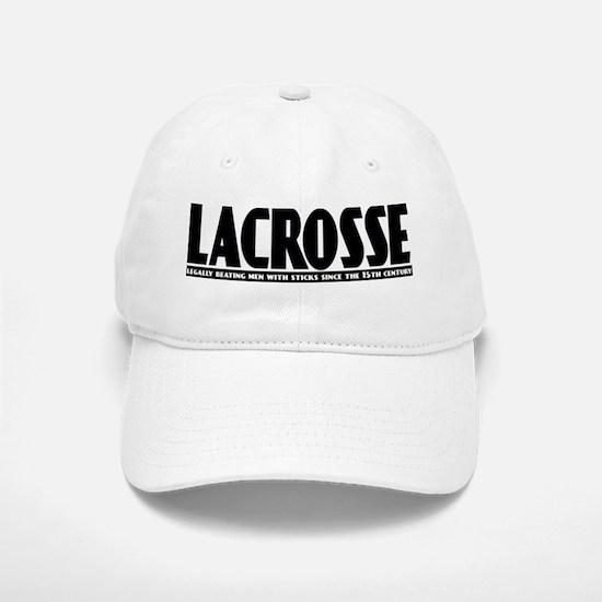Lacrosse Beating People Baseball Baseball Cap