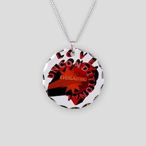 Love Unconditional Everlasti Necklace Circle Charm