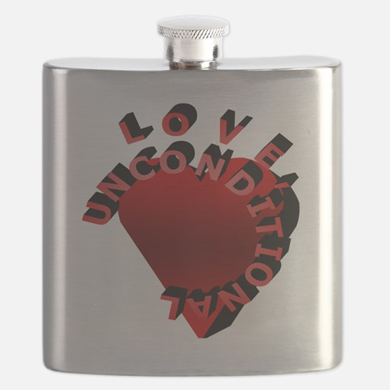 Love Unconditional Flask