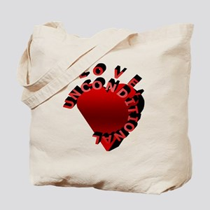 Love Unconditional Tote Bag
