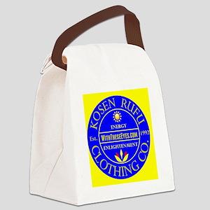 KOSEN RUFU CO SEAL embroidery Canvas Lunch Bag