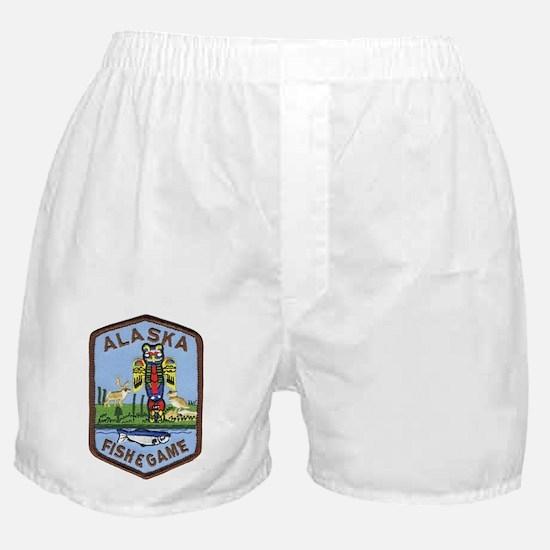 Alaska Game Warden Boxer Shorts