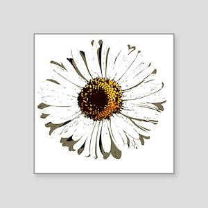 """fleur_marguerite_daisy_dess Square Sticker 3"""" x 3"""""""