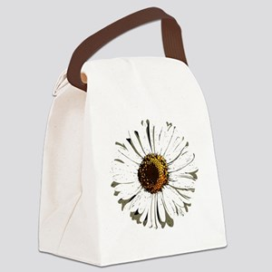 fleur_marguerite_daisy_dessin_lor Canvas Lunch Bag