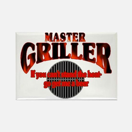 Master Griller Rectangle Magnet