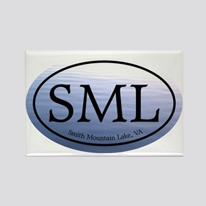 SML.ovalother.bluewater Rectangle Magnet