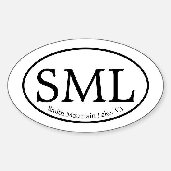 SML.ovalother.white Sticker (Oval)