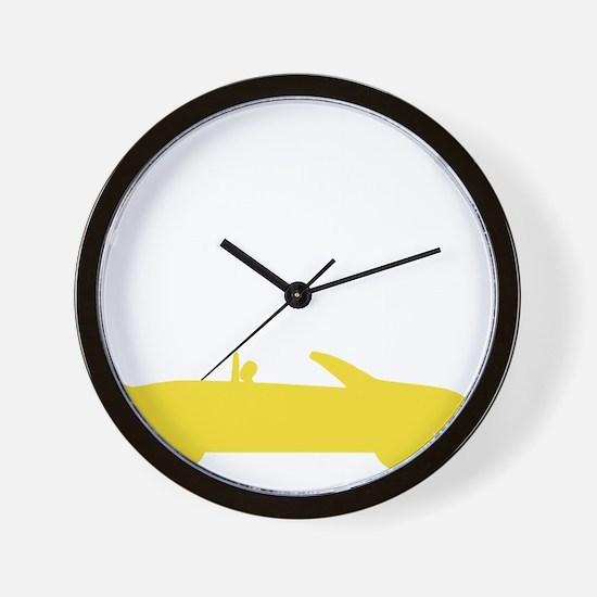 stillplayscarsdrk Wall Clock