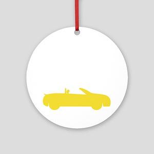 stillplayscarsdrk Round Ornament