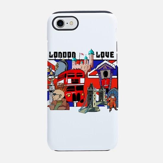 London Love iPhone 7 Tough Case