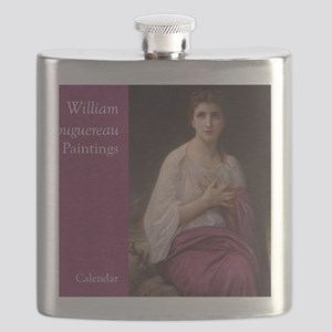 Bouguereau Paintings Wall Calendar cover Lun Flask
