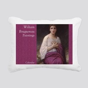 Bouguereau Paintings Wal Rectangular Canvas Pillow