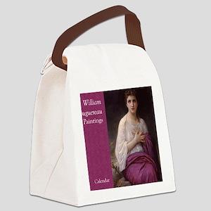 Bouguereau Paintings Wall Calenda Canvas Lunch Bag