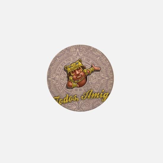mayan-cal-toon2-OV Mini Button