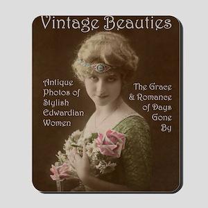 Lunagirl Vintage Beauties Calendar Victo Mousepad
