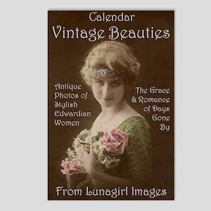 Lunagirl Vintage Beauties Postcards (Package of 8)