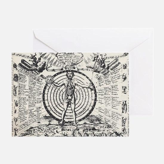 Alchemical Man Greeting Card